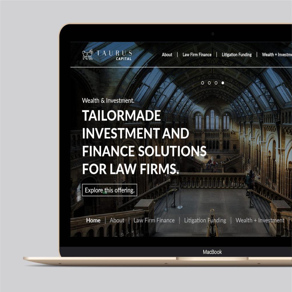 Taurus Website Design